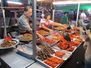 Borneo, Mardiah Resort, Pasar Utama, Tourism, tourist guide, town, night market, wet market,