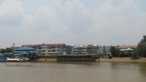 Borneo, Community Service, Kapit, malaysia, medical seva, Non Government Organization, outdoors, rural service, Sibu, Waterfront, speedboat, Rejang river, town, Transportation, volunteer, 快艇,