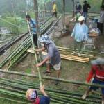 community service, baruk, Bau, culture event, Gawai Dayak, homestay, indigenous, Kampung Gumbang, malaysia, native, nyobeng, orang asal, orang asli, skull house, split bamboo panels, tribal, tribe, village