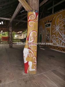 authentic, wisata budaya, culture, east kalimantan timur, indigenous, indonesia, Kampung Merasa, native, Suku Dayak, Totem Pole, Tourism, tourist attraction, travel guide, tribal, tribe, village,