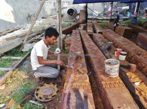 Kalimantan timur, Kaltim, Mahakam river, Obyek wisata, Sungai Mahakam, Tourism, tourist attraction, furniture, travel guide, belian, iron wood, ulin, kota tepian