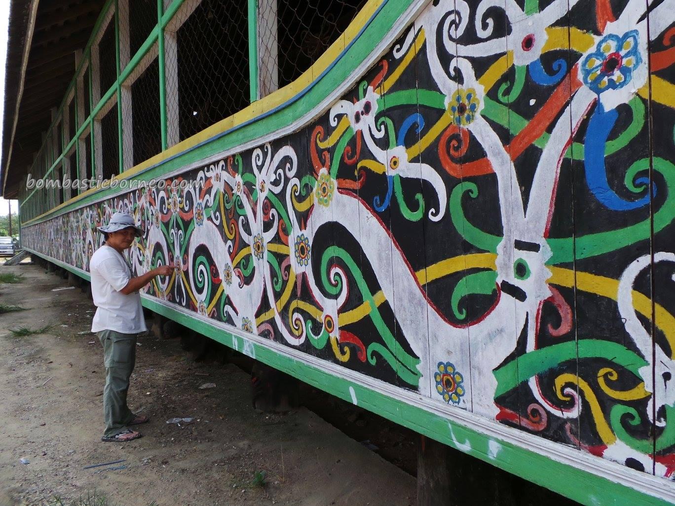 adventure, authentic village, culture, customs hall, Ethnic, indigenous, Borneo, Kongbeng, Kalimantan Timur, Lamin Adat Lakeq Bilung Jau, longhouse, Miau Baru, Suku Dayak Kayan, Tourism, travel, traditional, tribal, tribe,