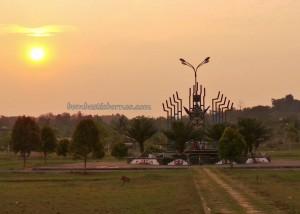 beach, Borneo, Kalimantan timur, sunset, Obyek wisata, outdoor, Teluk Lombok, tourism, tourist attraction, travel guide, village,
