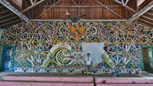 authentic, budaya, culture, Obyek wisata, Ethnic, indigenous, Makmur Jaya, Tourism, tourist attraction, traditional, travel guide, tribal, tribe, village, Wahau, Kongbeng, Balai Adat Luung Baun, customs hall,