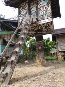 authentic, culture, indigenous, Borneo, Kalimantan Timur, Lepau Parai, Lumbung Padi, Miau Baru, wisata budaya, sculptures, lamin adat, Suku Dayak, Tourism, tourist attraction, travel guide, tribe, village,