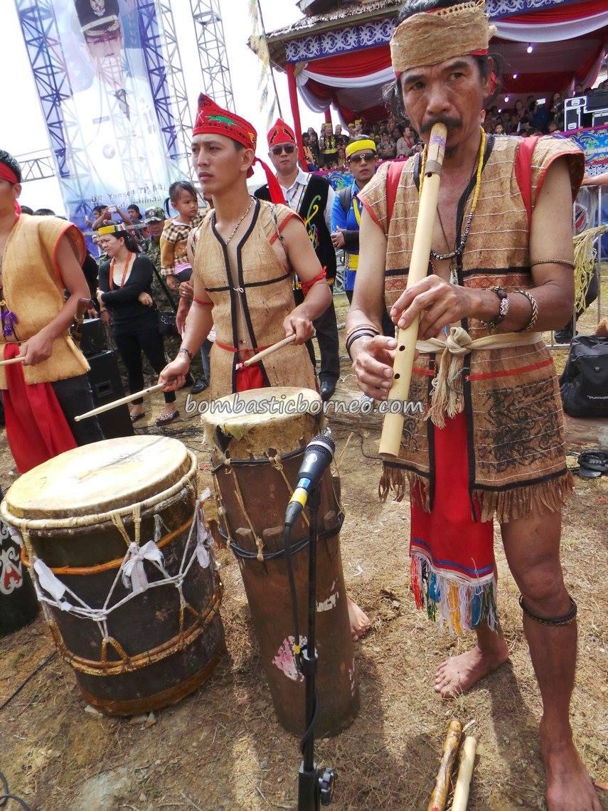 Malinau Irau Festival, Dayak Lundayeh Tribal Cultural Dance  BOMBASTIC BORNEO