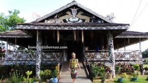 authentic, Borneo culture, motif, homestay, indigenous, Lamin Adat Adjang Lidem, longhouse, Selatan Hilir, native, Obyek wisata budaya, orang asal, Suku Dayak Kenyah, Tourism, tourist attraction, traditional, tribal, tribe, village,