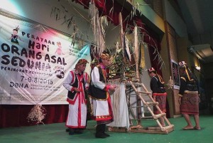 authentic, Bidayuh, ritual, native, event, Jaringan, JOAS, Perayaan Hari Orang Asal, PHOAS, International, World's, Kuching, malaysia, DBNA, traditional, tribal, tribe,