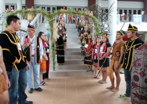 Bidayuh, Iban, Kenyah, Kadazan, rungus, culture, Ethnic, native, event, JOAS, Perayaan Hari Orang Asal Sedunia, International, World's, Sabah, Kuching, malaysia, traditional,