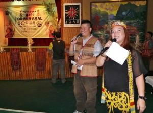 authentic, Dayak Bidayuh, Iban, Kenyah, culture, native, event, Jaringan, JOAS, Perayaan, PHOAS, International, World's, Kuching, malaysia, tribal, tribe,
