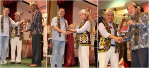 Dayak Bidayuh, Iban, Kenyah, Kadazan, rungus, event, JOAS, Perayaan, Sedunia, PHOAS, International World's Indigenous People Day, Borneo, Sabah, Kuching, DBNA, tribal, tribe,