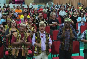 Dayak Bidayuh, Iban, Kenyah, Kadazan, rungus, Ethnic, native, JOAS, Perayaan, International, World's Indigenous People Day, Borneo, Sabah, DBNA, traditional, tribal, tribe,