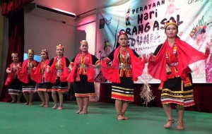 authentic, Dayak Bidayuh, culture, native, Jaringan Orang Asal, Perayaan, Sedunia, PHOAS, International, Borneo, Sabah, DBNA, traditional, tribal, tribe, orang asli,