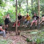 air terjun, authentic, bamboo bridge, Borneo Heights, dayak bidayuh, native, homestay, jungle, rainforest, Kampung Kiding, village, Kuching, malaysia, Padawan, tour guide, Tourism, tourist attraction,