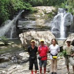 adventure, outdoor, nature, waterfall, bamboo bridge, homestay, jungle trekking, rainforest, Kampung Kiding, village, Borneo Heights, tour guide, tourist attraction, tribal, tribe, tourism, native