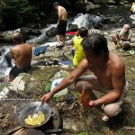 adventure, outdoor, nature, waterfall, bamboo bridge, exotic delicacy, homestay, jungle trekking, rainforest, Kampung Kiding, village, Kuching, Padawan, tour guide, tourist attraction, tribal, tribe,