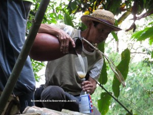 Highlands, dayak bidayuh, native, Ethnic, exotic delicacy, ijok, nyok, palm wine, jungle trekking, rainforest, Kampung Kiding, Kuching, malaysia, padawan, nature, outdoors, Tourism,