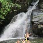Padawan, adventure, outdoor, nature, air terjun, bamboo bridge, Malaysia, native, jungle trekking, rainforest, Kampung Kiding, village, travel guide, tourism, highlands, Bidayuh,