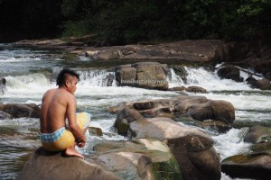 authentic village, indigenous, backpackers, Seluas, Desa Bengkawan, Borneo, gawai dayak, nature, obyek wisata, Tourism, crossborder. transborder, travel guide, native, tribe, Waterfall, riam,