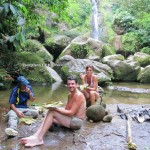 nature, outdoor, trekking, rainforest, Jungle Survival, air terjun, mureh waterfall, dayak bidayuh, native, tribe, Dusun Gun Tembawang, Indonesia, West Kalimantan, Kampung Sapit, Tourism, obyek wisata, crossborder,