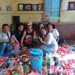 backpackers, authentic, Indigenous, dayak bidayuh, native, tribe, event, paddy harvest festival, village, kampung, Siding, West Kalimantan, traditional, transborder, tuak, palm wine, tourist attraction,
