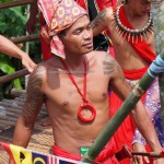 indigenous, traditional, backpackers, Dayak Bidayuh, Native, tribal, tribe, Borneo, Bau, Malaysia, culture, ritual, Nyobeng event, Paddy harvest festival, village, tourist attraction, travel guide,