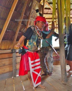 authentic, village, ritual ceremony, cultural dance, budaya, tribal, tribe, Kalimantan Barat, Nyobak'ng event, gawai dayak, harvest festival, Rumah Adat Baluk, skull feeding, Tourism, travel guide, transborder, backpackers,