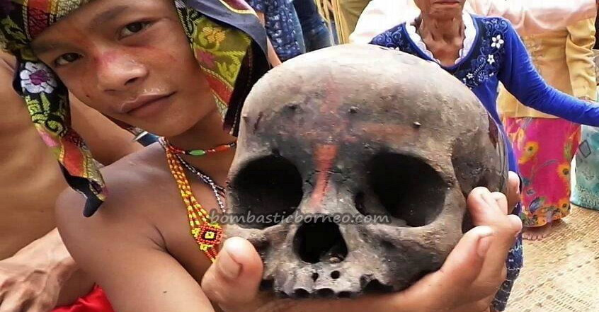 authentic, Indigenous, ritual ceremony, culture, wisata budaya, native, tribal village, Borneo, Indonesia, West Kalimantan, Nyobak'ng, cleansing, skull feeding, tengkorak, Tourism, traditional, transborder,