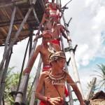 Indigenous, cultural dance, budaya, dayak bidayuh, native, tribe, tribal, event, ritual ceremony, destination, Borneo, backpackers, Rumah Adat Baluk, traditional, transborder, travel guide, tourist attraction,