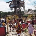 Backpackers, authentic, Indigenous, culture, budaya, dayak bidayuh, native, tribal, Nyobeng gawai, village, Kalimantan Barat, skull house, traditional, tourist attraction, travel, tourism, tribe,