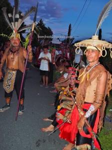 Isen Mulang, indigenous, Borneo, Kalteng, Indonesia. Palangkaraya, carnival, event, Festival Budaya, street parade, orang asal, Suku Dayak, tourist attraction, traditional, tribal, tribe