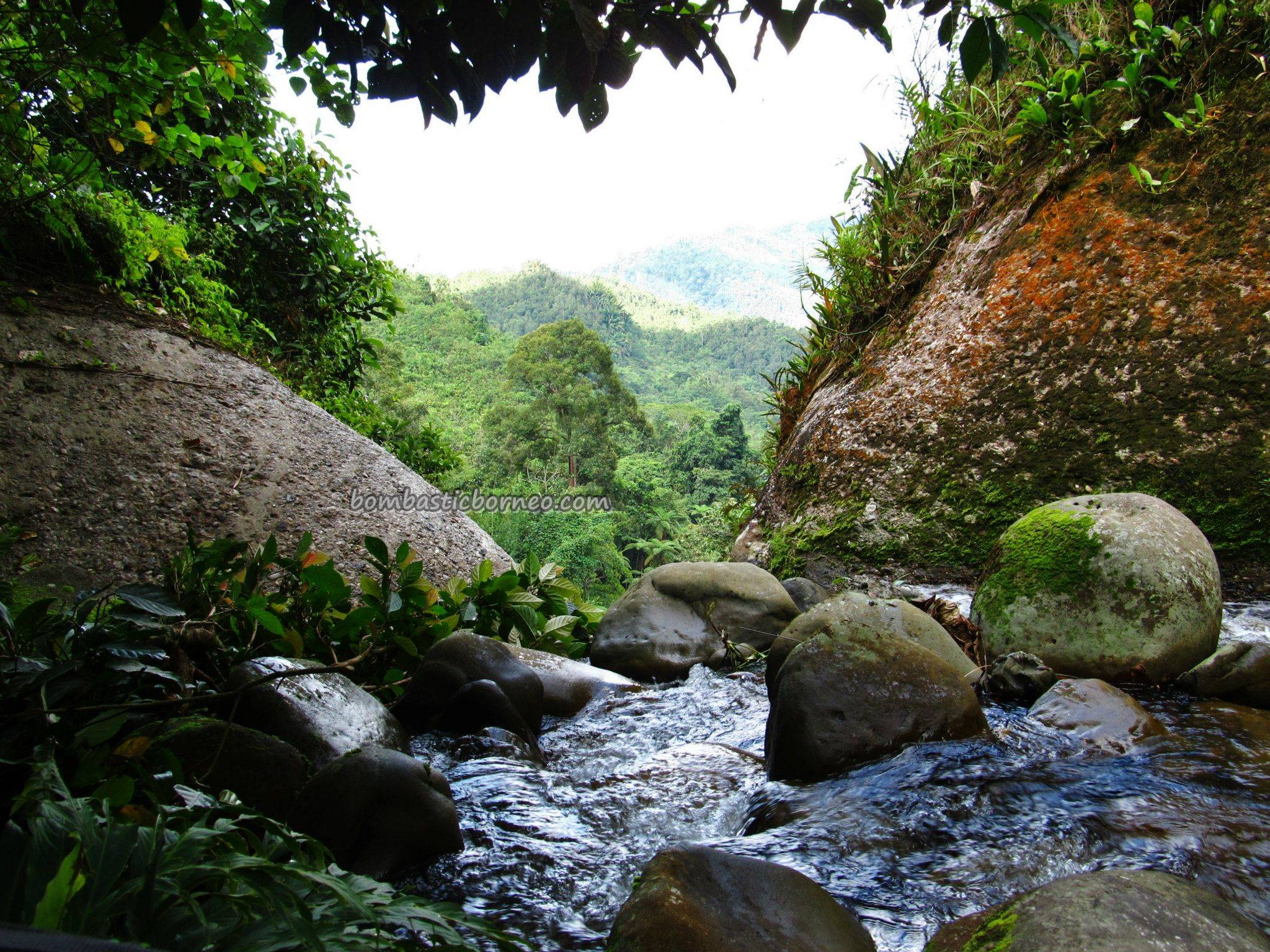 Ban Buan Kukuot Waterfall Kampung Sadir Padawan Sarawak