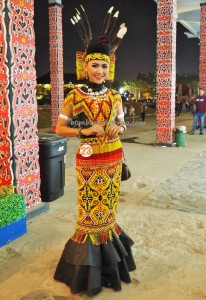 Beauty contest, Bujang Dara, authentic, Indigenous, budaya, event, Dayak harvest festival, native, Borneo, Indonesia, Kalimantan Barat, Tourism, tourist attraction, traditional, tribal, tribe,