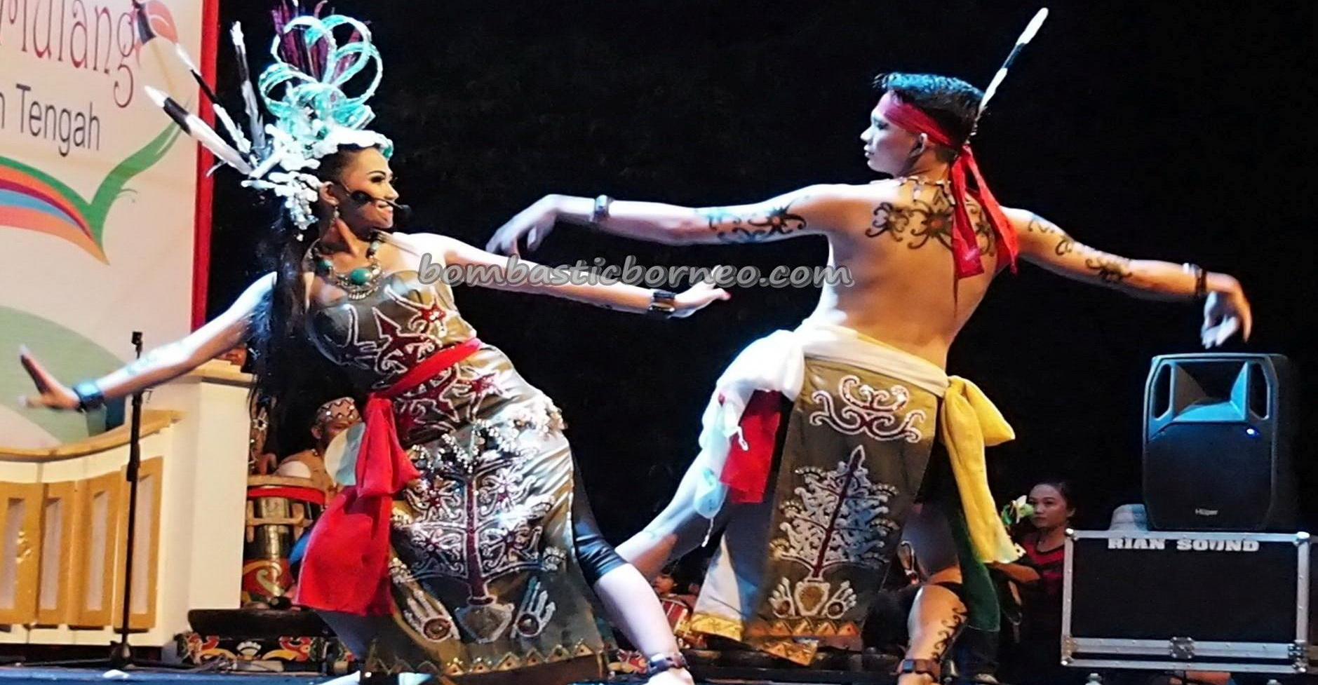 Lomba Jagau, Isen Mulang, Indigenous, cultural dance, Festival Budaya, event, Borneo, 中加里曼丹, Indonesia, Palangka Raya, native, Suku Dayak, Pariwisata, traditional, tribal, tribe,