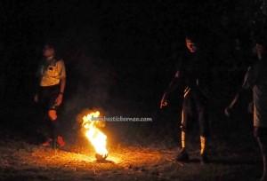 Fire Soccer, football, Lomba Sepak Sawut Apui, bola api, authentic, Borneo, Palangka Raya, culture, event, native, pariwisata, permainan tradisional, traditional games, sports, Suku Dayak, Tourism,