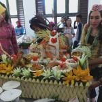 Lomba Mangenta, exotic delicacy, Festival Budaya, Isen Mulang, Borneo, Kalimantan Tengah, 中加里曼丹, Palangka Raya, culture, suku dayak, Carnival, Pariwisata, Tourism, tradisional, tribal, makanan, food garnishing