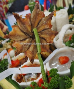 Lomba Memasak, exotic delicacy, Food decoration, Festival Isen Mulang, Authentic, Borneo, Kalteng, Palangkaraya, culture, Ethnic, native, event, Pariwisata, tourist attraction, tradisional, garnishing