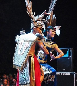 Lomba Jagau, authentic, Indigenous, culture, Festival Budaya, talent show, carnival, Borneo, Indonesia, Palangkaraya, Suku Dayak, Obyek wisata, Tourism, travel guide, tribe, backpackers,