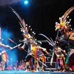 Lomba Tarian Pendalaman, Festival Budaya, authentic, Borneo, 中加里曼丹, Indonesia, cultural dance, carnival, pesta adat, native, Suku Dayak, Obyek wisata, Tourism, traditional, tribal, tribe,