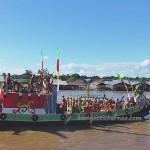 River Parade, pesta adat, indigenous, Borneo, Palangka Raya, 中加里曼丹, Indonesia, carnival, culture, native, Suku Dayak, event, Sungai Kahayan, Obyek wisata, tourism, tribe,