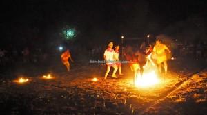 Fire Soccer, football, bola api, authentic, backpackers, Isen Mulang, Borneo, Palangkaraya, event, native, obyek wisata, permainan tradisional, traditional games, Tourism, suku dayak, tribe,