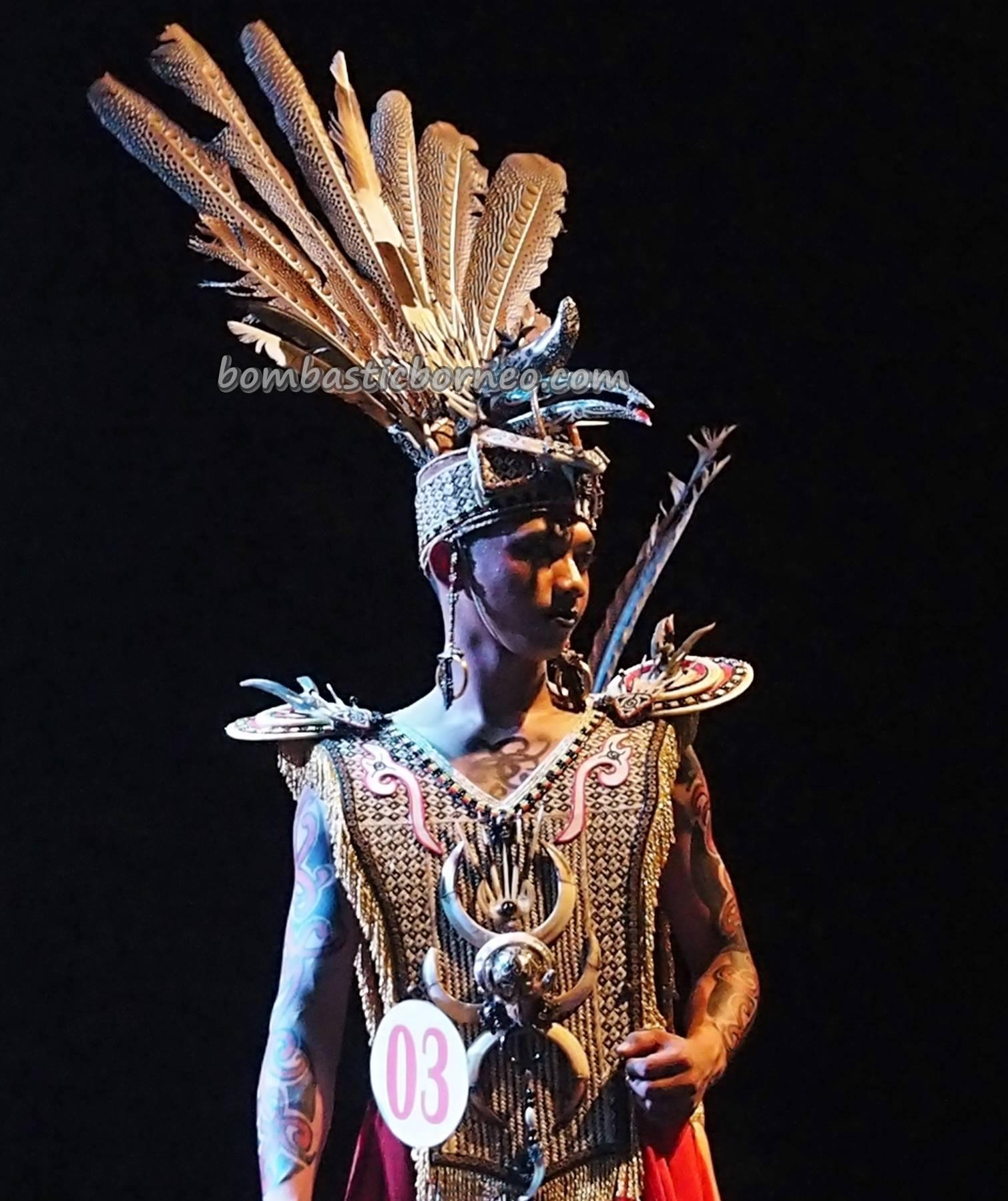 Isen Mulang Carnival Indigenous Native Central Kalimantan
