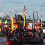 Lomba Jukung, Isen Mulang, Pesta adat, Indigenous, Borneo, Central Kalimantan, 中加里曼丹, Palangka Raya, carnival, culture, native, Sungai Kahayan, Pariwisata, tourist attraction, traditional, tribal,