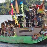 River Parade, Lomba Jukung, Isen Mulang, Indigenous, 中加里曼丹, Kalteng, Palangkaraya, carnival, native, Suku Dayak, event, Sungai Kahayan, Pariwisata, tourist attraction, travel guide, tribal