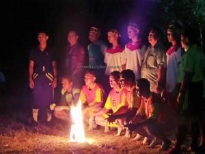 Lomba Sepak Sawut Apui, bola api, indigenous, authentic, Isen Mulang, Borneo, Palangkaraya, native, event, pariwisata, permainan tradisional, sports, Suku Dayak, Tourist attraction, travel guide, tribe,