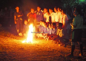 Fire football, Lomba Sepak Sawut Apui, bola api, indigenous, backpackers, Indonesia, Borneo, Palangka Raya, native, Ethnic, obyek wisata, permainan tradisional, sports, Suku Dayak, Tourism, travel guide,