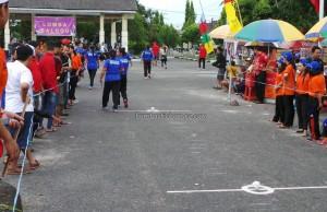 Lomba Balugu, Indigenous, backpackers, carnival, Borneo, Indonesia, Palangkaraya, Ethnic, event, native, Pariwisata, Suku Dayak, Tourism, sports, tribal, tribe,