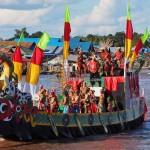 Lomba Jukung, Festival budaya, Pesta adat, Authentic, backpackers, Borneo, 中加里曼丹, Indonesia, Palangkaraya, carnival, native, Suku Dayak, Sungai Kahayan, Pariwisata, tourist attraction, tribal,