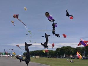International, Layang-Layang antarabangsa, Bintulu Development Authority, championship, Dual Line Stunt Kites, double delta kite, sport kite, Kites making workshop, event, Malaysia, Old Bintulu Airport, Tourism, tourist attraction, 婆罗洲国际风筝节, 民都鲁沙捞越