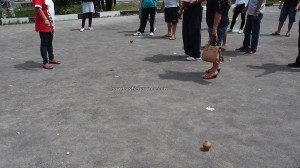 traditional games, permainan tradisional, Sports, Lomba Gasing, authentic, Indigenous, Borneo, Kalimantan Tengah, 中加里曼丹, Palangka Raya, competition, culture, carnival, native, Pariwisata, Tourism,